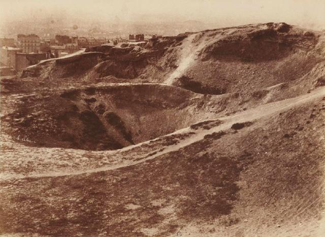 LA ZAD EN L'ÉTROIT TERRITOIRE - L'OUTRE-RÉEL IV.2 Carrieres_a_l_emplacement_des_buttes_chaumont_v_1852-53