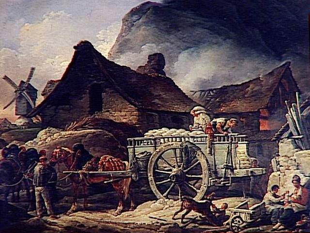 LA ZAD EN L'ÉTROIT TERRITOIRE - L'OUTRE-RÉEL IV.2 Four_a_platre_a_montmartre_charles_vernet_1758-1836
