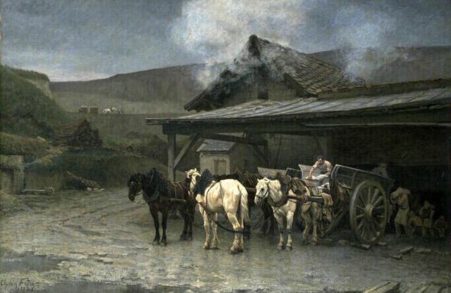 LA ZAD EN L'ÉTROIT TERRITOIRE - L'OUTRE-RÉEL IV.2 La_platriere_a_saint_brice_charles_edouard_frere_1883