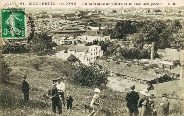 LA ZAD EN L'ÉTROIT TERRITOIRE - L'OUTRE-RÉEL IV.2 Montreuil_sous_bois_fabrique_de_platre